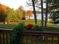 Lakefront View from Deck