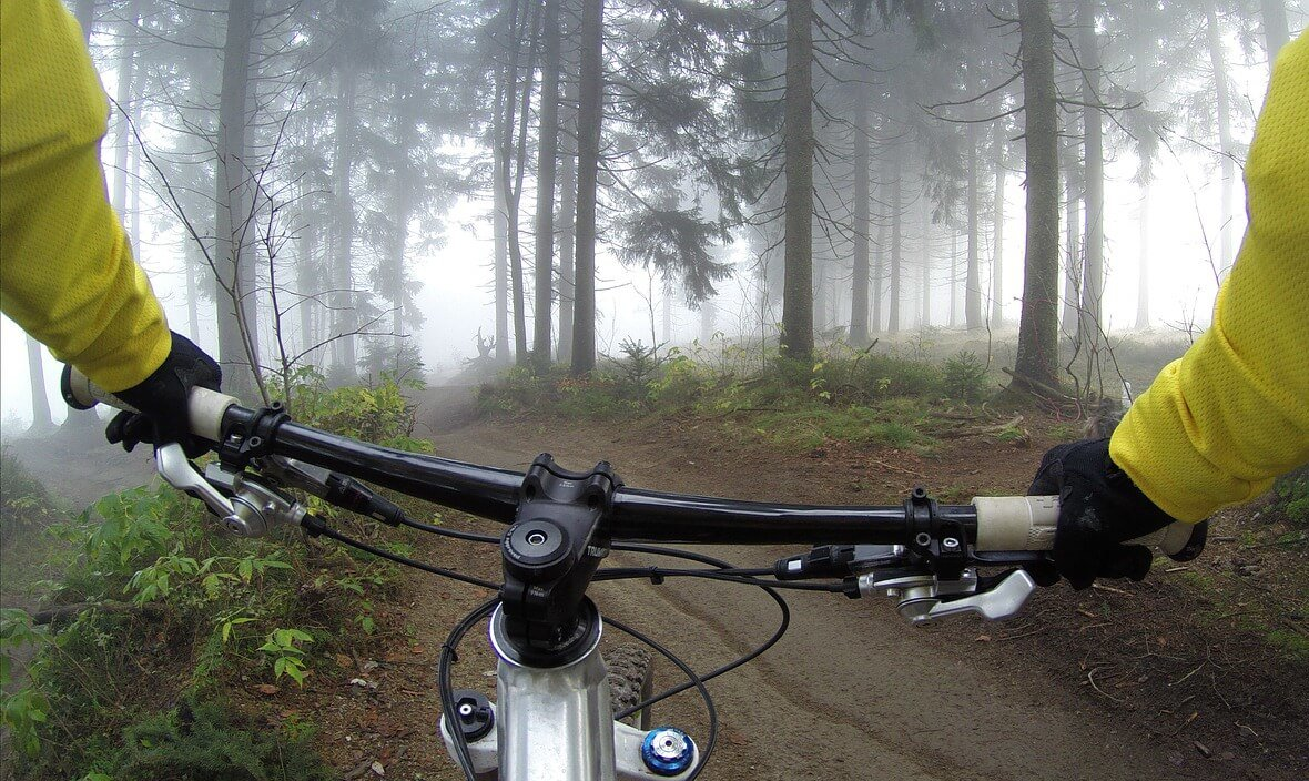Mountain Biking and Hiking Trails in Michigamme, Michigan