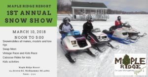 Snow Show, snowmobile, snowmobiling, vintage, antique, classic, race, kids, caboose, snow, trail 8, michigamme, marquette, ishpeming, party, festival, kids